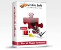 خروجی PDF سه بعدی از راینو با SimLab