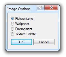 Rhino image option dialog