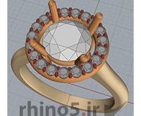 طراحی جواهرات با راینو
