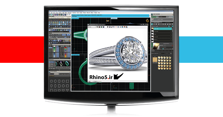 آموزش Matrix برای طراحی و ساخت طلا و جواهرات