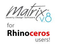 تغییر تولبار Matrix به Rhino