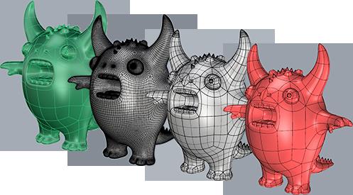 Clayoo 2.5 for Rhino