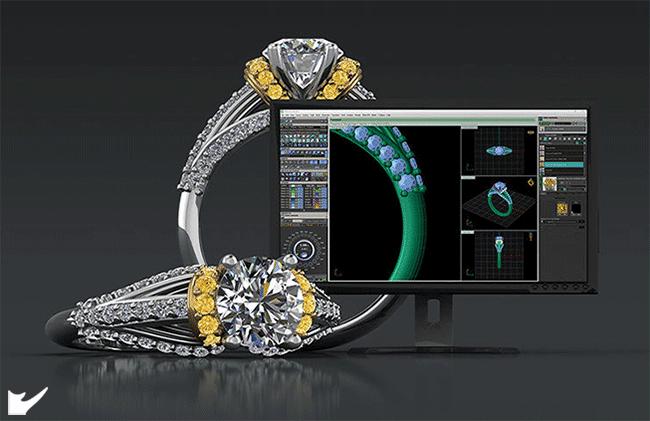 ورکشاپ طراحی جواهرات با Matrix