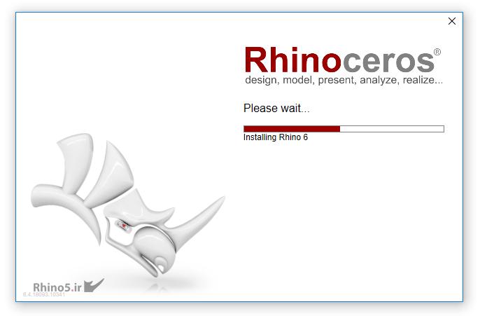 آموزش نصب Rhino 6