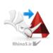 انتقال فایل ار راینو به اتوکد